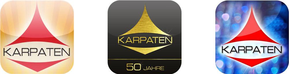 Karpaten AppIcons 2011-2013