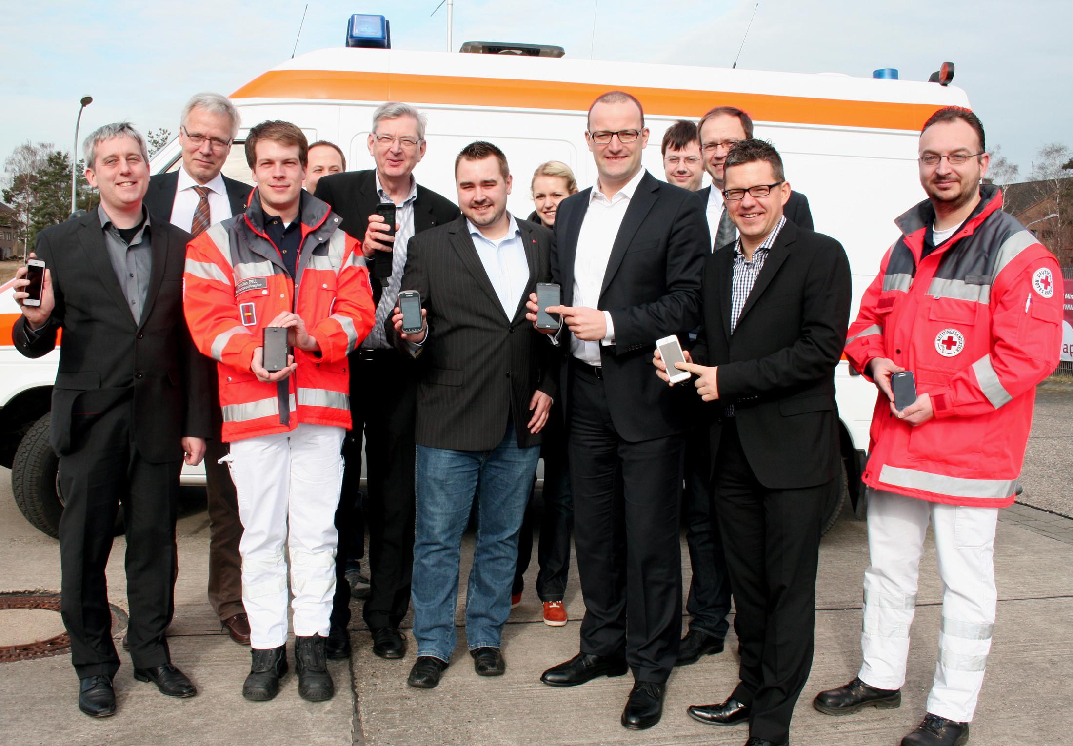 Münsterland wird Modellregion für neue Rettungsdienst-App